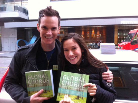 Global Chorus contributor Rachel Parent and Todd in Toronto, ON, Nov, 2014
