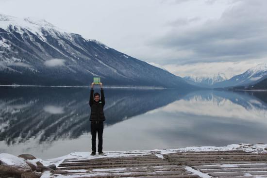 Todd with Global Chorus atMount Robson Provincial Park, BC, Nov 2014