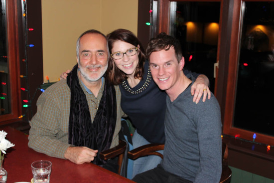 Global Chorus contributor Raffi with Savannah and Todd in Salt Spring Island, BC, Nov, 2014